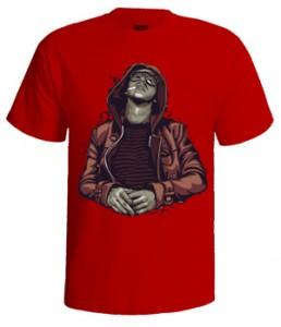 تی شرت هیپ هاپ طرح smoke