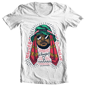 تی شرت هیپ هاپ طرح school boy