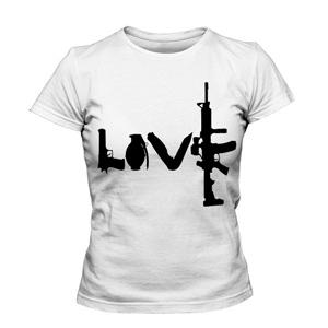 تی شرت عشق طرح love