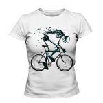 خرید تی شرت فانتزی طرح Bicycle skull