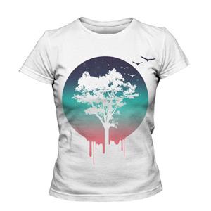 تی شرت گرافیکی طرح tree of life