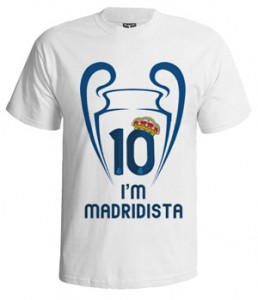 تی شرت رئال مادرید طرح madridista