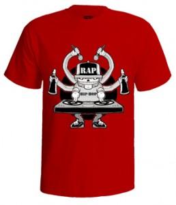 تی شرت هیپ هاپ طرح rap