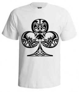 تی شرت سرگرمی طرح clubs