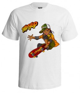 تی شرت هیپ هاپ طرح girls dance street