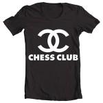 تیشرت شطرنج طرح chess club