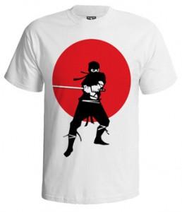 تی شرت نینجا طرح american ninja