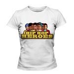تی شرت هیپ هاپ طرح heroes