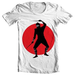 تی شرت نینجا طرح ninja warrior