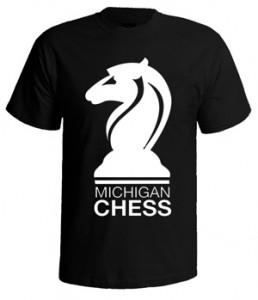 تی شرت شطرنج chess michigan