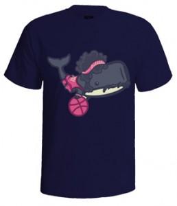 تی شرت بسکتبال طرح monstro