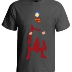 تی شرت سوپرمن طرح man of steel