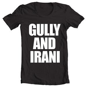 خرید تی شرت gully and irani