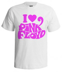 تی شرت پینک فلوید i love pink