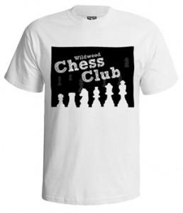 تی شرت شطرنج طرح wildwood club
