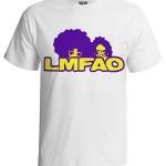 تی شرت هیپ هاپ طرح LMFAO
