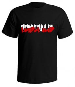 تی شرت گرافیتی پرسپولیس
