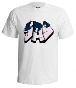 تی شرت گرافیتی یاس