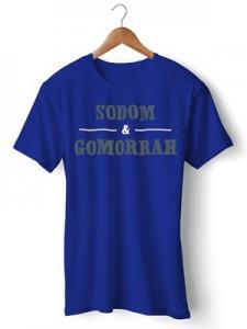 تی شرت طرح sodom and gomorrah