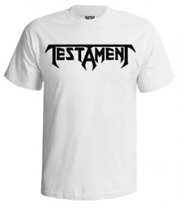 تی شرت testament band