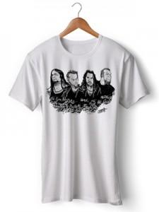 تی شرت متالیکا طرح metallica by heriShinato