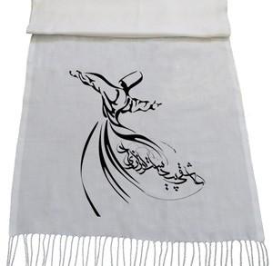 شال ایرانی طرح calligraphy