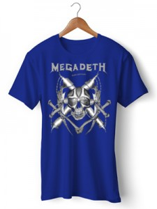 تی شرت متال طرح megadeth