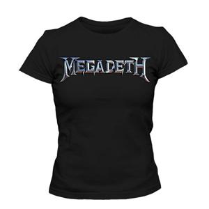 تی شرت طرح megadeth logo