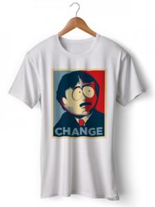 تی شرت south park طرح change