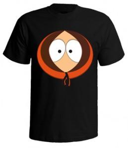 تی شرت south park طرح kenny face