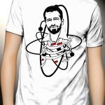 تی شرت شهید احمدی روشن