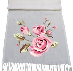 شال گلدار طرح elegance
