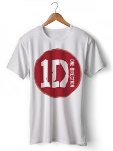 تی شرت one direction طرح one