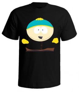تی شرت south park طرح cartman