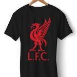 تی شرت لیورپول طرح logo