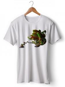 تی شرت سه بعدی جدید