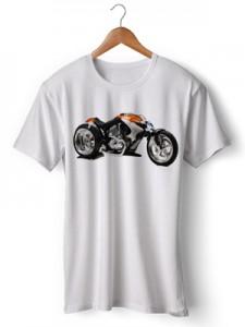تی شرت سه بعدی طرح best bikes