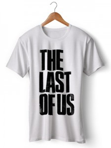 تی شرت the last of us طرح logo