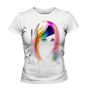 تی شرت طرح زیبای دخترانه