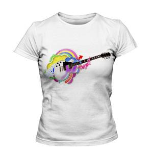 تی شرت گرافیکی طرح گیتار