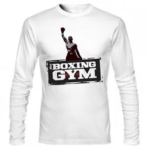 تی شرت آستین بلند بدنسازی boxing gym