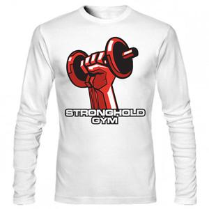 تی شرت آستین بلند بدنسازی stronghold