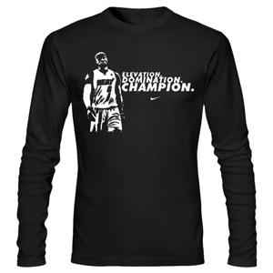 تی شرت آستین بلند بسکتبال james