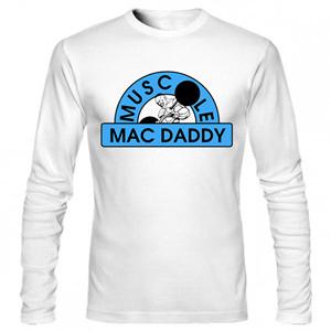 تی شرت آستین بلند بدنسازی mac daddy