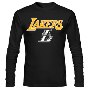 تی شرت آستین بلند بسکتبالی lakers