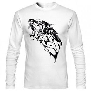 تیشرت آستین بلند گرافیکی Panther