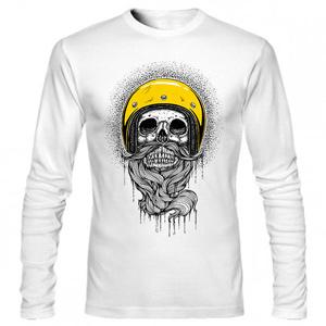 تیشرت استین بلند گرافیکی bearded skull