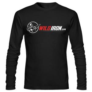 تیشرت آستین بلند ورزشی wild iron