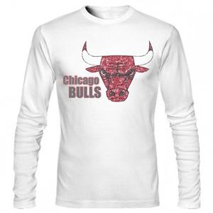 تی شرت آستین بلند بسکتبال bulls