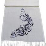 شال طاووس طرح نقاشی